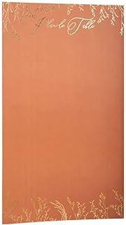 artifêtes Plan DE Table BRINDILLES 42X74CM Terracotta Or