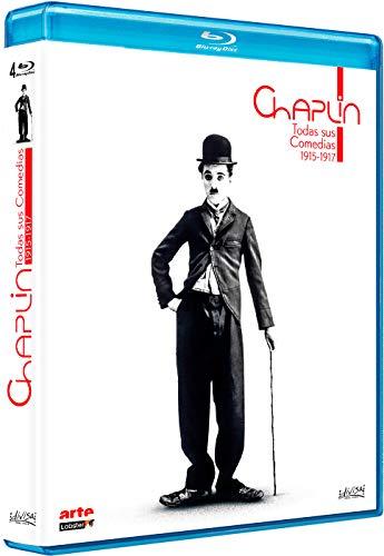 Chaplin - Todas sus comedias (1915-1917) - BD [Blu-ray]