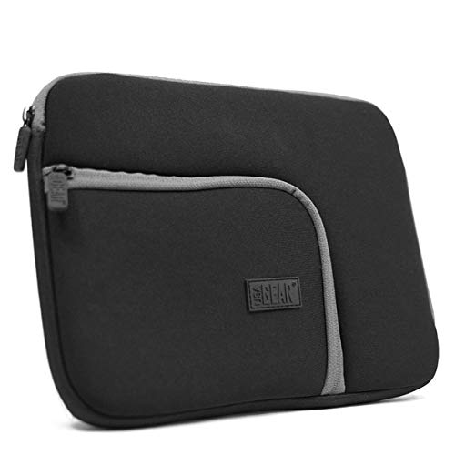 Funda Tablet 10.1 Portátiles Neopreno Blanda- Compatible con Apple iPad Air 2 , Mini 3 / Samsung Galaxy Tab 4 10.1'/ BQ Edison 3/ Tablet Polatab Elite Q 10.1 …. ¡y más! Por USA GEAR