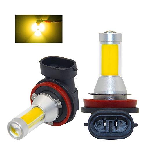 Lampadine LED fendinebbia di ricambio, estremamente luminose, ad alta potenza, 35 W, 6000 K, lampadine con chip LED COB per fendinebbia, luce di marcia diurna