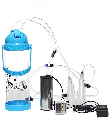 3L 0.7Gal eléctrico Impulso Ovejas Cabra ordeñadora Cabra ordeño Ordeñadora Kit de herramientas de inflación Crema de leche Separadores