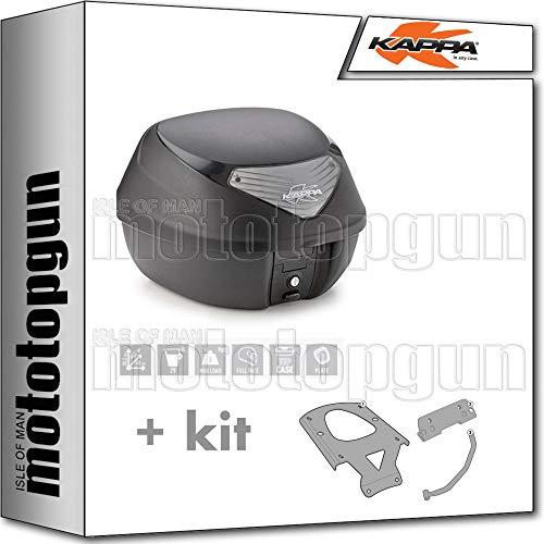 kappa maleta k29nt 29 lt + portaequipaje monolock compatible con suzuki burgman 125 200 abs 2020 20