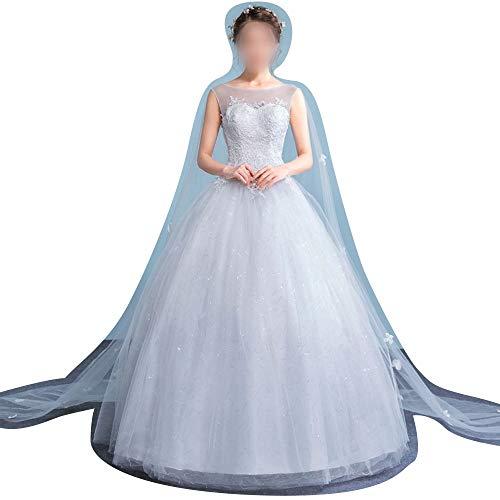 Rocke Trägerlosen Brautkleider Einfache Brautkleid Chiffon Brautkleid Brautkleid (Size : XXL)
