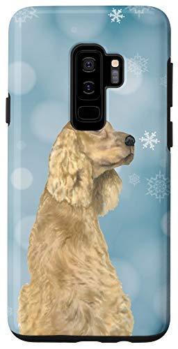 Galaxy S9+ Cocker Spaniel Christmas Lovers Phone Case Meme Gift Case