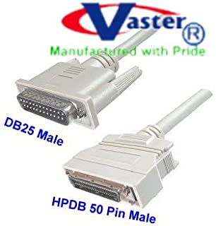 SuperEcable - 20357-6 FT - SCSI-1 to SCSI-2 DB25 Male to HPD 50 Male Cable