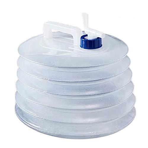 Wasserspender pumpe, filter outdoor Faltbarer Wassertank 5L / 10L mit Wasserhahn Wasserpumpe Flaschen, presse Wasserflaschenpumpe tragbar, Trinkspender Filter für Camping, Klettern Outdoor-Aktivitäten