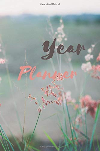 Year Planner: Control your own life with the best personal planning 2020