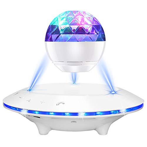 MSG ZY magnetische zweefbaan, bluetooth, draadloos, draaiend gekleurd licht, led, steun-IOS/Android/Windows/TF, een goede keuze voor tafelbladdecoratie en geschenken