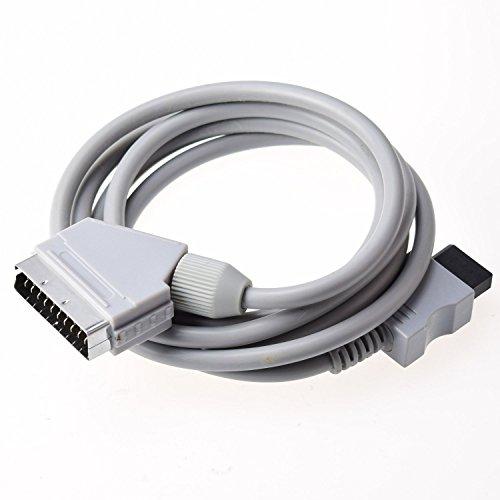 Gam3Gear real RGB Scart Cable cuerda del plomo para Nintendo Wii PAL