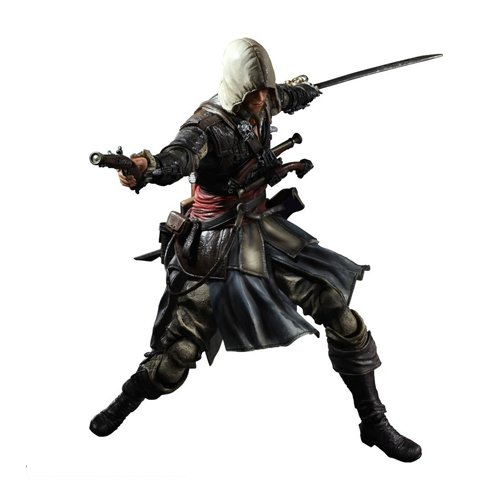 Square Enix Figurine Play Arts Kaï - Assassin's Creed IV Black Flag - Edward Kenway