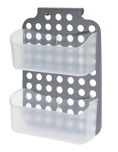 Kunststoff Duschregal - 36x25 cm - Bad Hänge Regal Dusch Korb Ablage Badezimmer