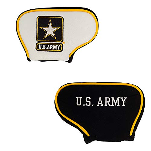 Team Golf Military Army Golf Club Mallet Putter Headcover, Fits Most Mallet Putters, Scotty Cameron, Daddy Long Legs, Taylormade, Odyssey, Titleist, Ping, Callaway -  57831