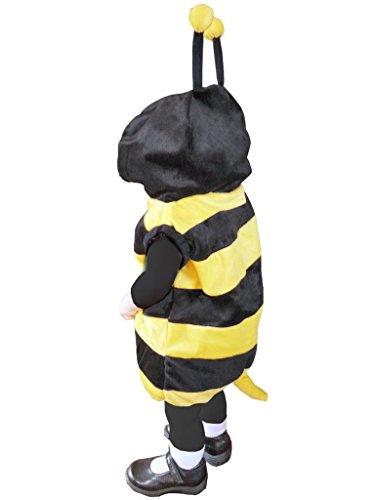 Bienen-Kostüm, J14 Gr. 92-98, für Klein-Kinder, Babies, Bienen-Kostüme Biene Kinder-Kostüme Fasching Karneval, Kleinkinder-Karnevalskostüme, Kinder-Faschingskostüme, Geburtstags-Geschenk