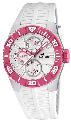 Lotus Reloj para Mujer Analógico de Cuarzo con Brazalete de Poliuretano L15779/2