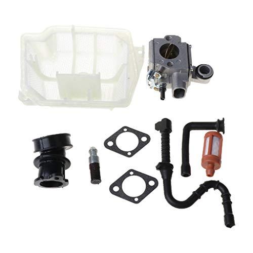 Ocobudbxw C3R-S236 Kit de Junta de carburador para Stihl MS361 MS 361 Reemplazo de Motosierra