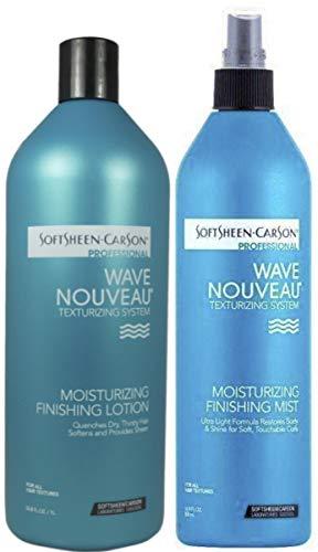 Lotion de finition hydratante Wave Nouveau 1L avec brume de finition hydratante 480 ml