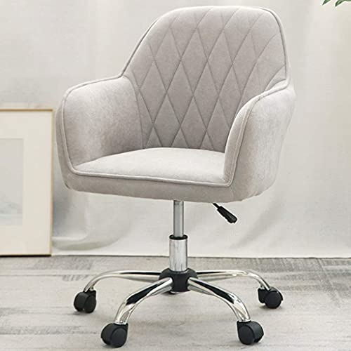 SHANGU Leather Boss Chair, Ergonomic Computer Chair Height Adjustable Swivel,Home Furnishings Office Task Chairs with Backrest and Arm,Upholstered Seat for Desk