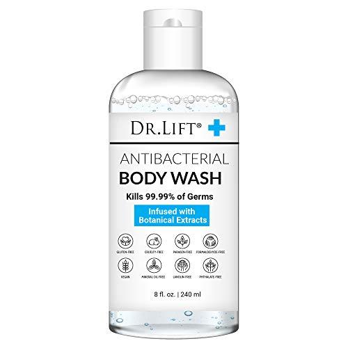 Dr. Lift Antibacterial Body Wash, 8 oz - Gentle & Effective Shower Gel