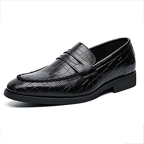 HUDUO Zapatos De Cuero para Hombres Zapatos De Vestir De Boda De...