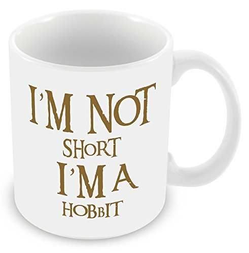 Acen Hobbit - Taza de café y oficina para cualquier ocasión, color blanco