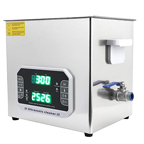 Limpiador ultrasónico de un solo botón, Capacidad de galones DK-1000PF Equipada 300W con acero inoxidable por un período de tiempo.