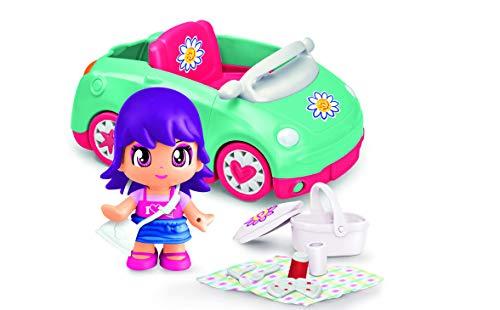 Pinypon- Figura con coche para picnic en el campo (Famosa 700015652)
