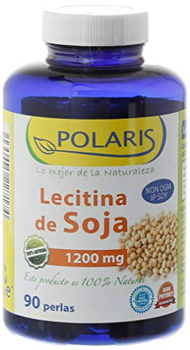Polaris Soy Lecithin 1200Mg 90Pearls 1000g Pack of 1