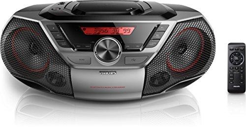 Philips AZ 700 Radio-réveil Lecteur CD MP3 Port USB