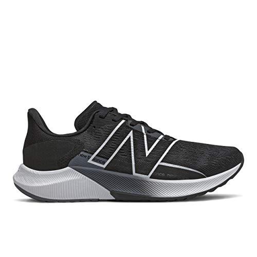 New Balance Men's FuelCell Propel V2 Running Shoe, Black/White, 9 UK