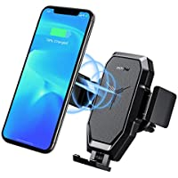 Mpow 2-in-1 10/7.5/5W Qi Wireless Car Charger/Vent Holder Phone Mount (TT-SH006)