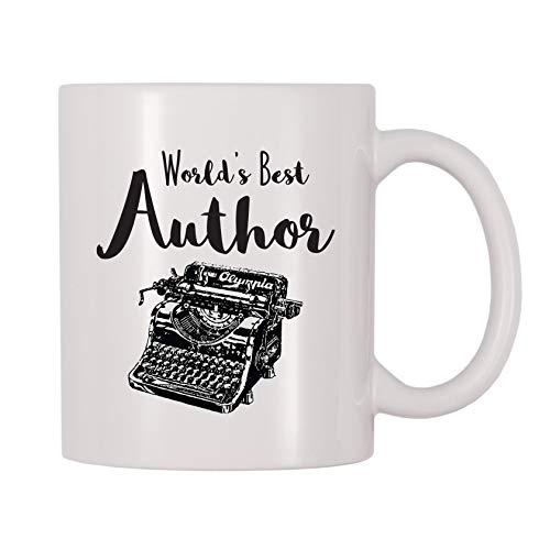 4 All Times World's Best Author Coffee Mug (11 oz)
