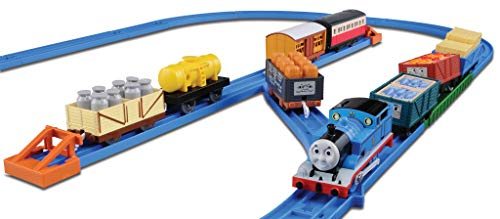 Tomica PraRail Thomas & Friends Train Freight Loading Set (Model Train) [Toy] (japan import)