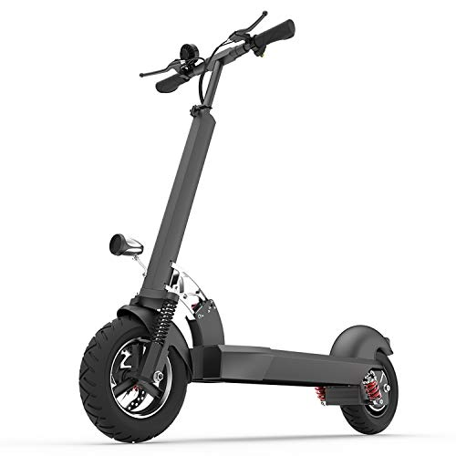 XULONG E202 Scooter eléctrico Adulto, Plegable 10 Pulgadas 1000 W Carga 200...