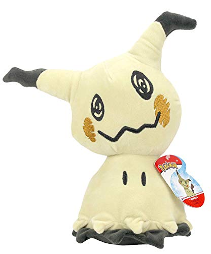 Lively Moments Pokemon Plüschtier ca. 20 cm / Kuscheltier / Spielzeug / Plüschfigur Mimigma / Mimikyu