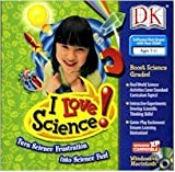 BRAND NEW Dk Multimedia I Love Science 60 Off-Computer Experiments 1000 Science Problems High Quality