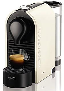 Nespresso XN 2501 U Pure Cream Krups U-Cafetera con cápsulas, Color, 1260 W, Blanco perla (B008YQHTEM) | Amazon price tracker / tracking, Amazon price history charts, Amazon price watches, Amazon price drop alerts