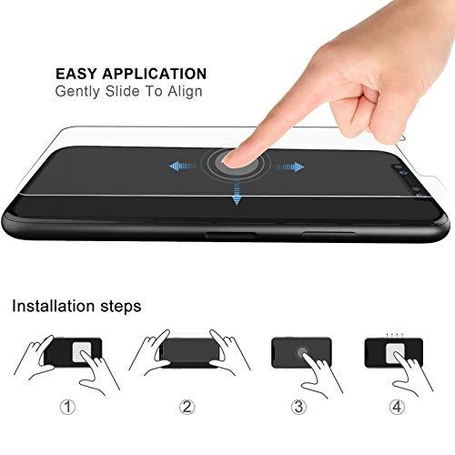 YHWW Displayschutz gehärtetes Glas für iPhone x xs max xr 10 8 7 6 6s Plus ultradünne transparente gehärtete glasfolie für iPhone x, für i6 6s Plus