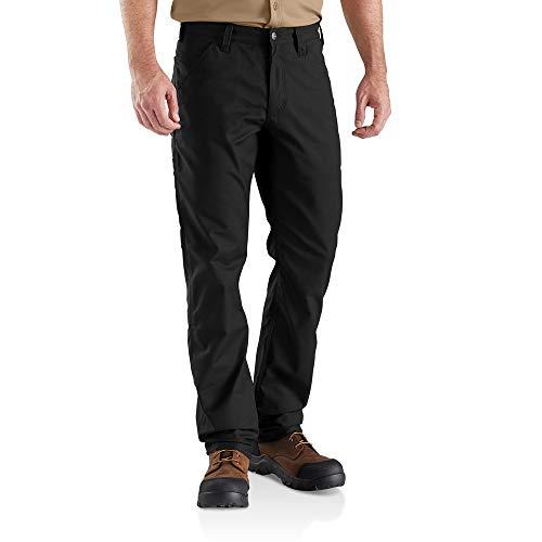 Carhartt Rugged Professional Stretch Canvas Pant Pantalone, Black, W32/L32 Uomo