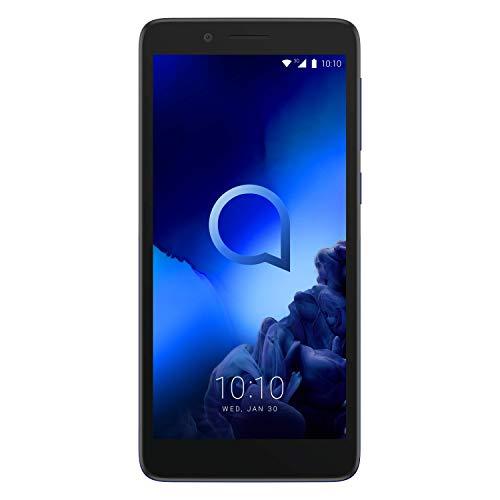 Alcatel 1C 2019 Smartphone 4G Dual Sim, Display 5  FWVGA, 8GB, 1GB RAM, Android, Batteria 2000mAh, Enamel Blue [Italia]