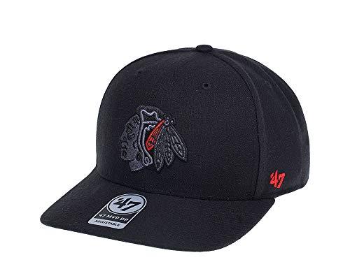 47Brand Gorra con detalles de color MVP DP de Chicago Blackhawks -...