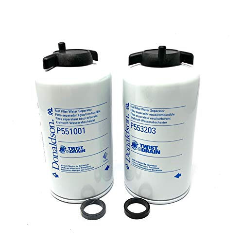 Price comparison product image Donaldson P551001 - P553203 Replacement Filter Set for FWS-3003 and FS-1001 (Pack of 2 Set)