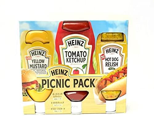 Heinz ハインツ ピクニックパック (ケチャップ・レリッシュ・マスタード)
