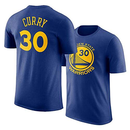 LLSDLS Pallacanestro T-shirt NBA Guerrieri squadra Durant Maglia Basketball manica corta rotonda collo traspirante Sport T-Shirt formazione di basket del vestito di cotone T-shirt for gli uomini Magli