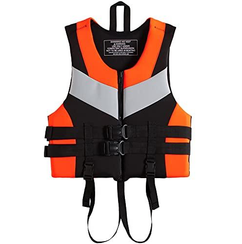 Chaleco Salvavidas, Chaleco Flotador Adulto Chaleco De Surf Entretenimiento AcuáTico Buceo, Chaleco Natacion Ropa De Pesca Apto para Lanchas A Motor Y Kayaks