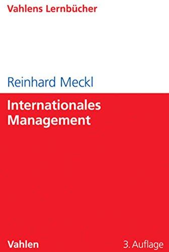 Internationales Management (Lernbücher für Wirtschaft und Recht)