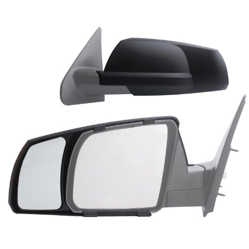 Fit System 81300 Snap-on Black Towing Mirror for Toyota Tundra/Sequoia - Pair
