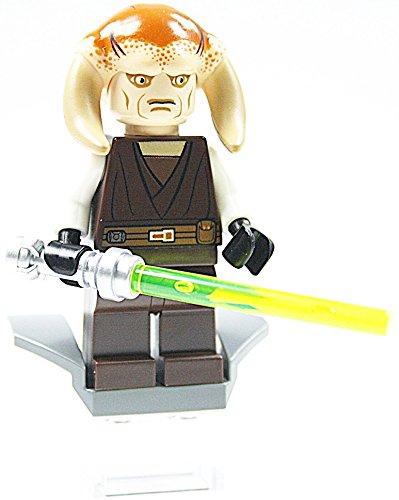LEGO Star Wars - Figur Jedi Saesee Tiin + Laserschwert aus 7931 mit Zubehör