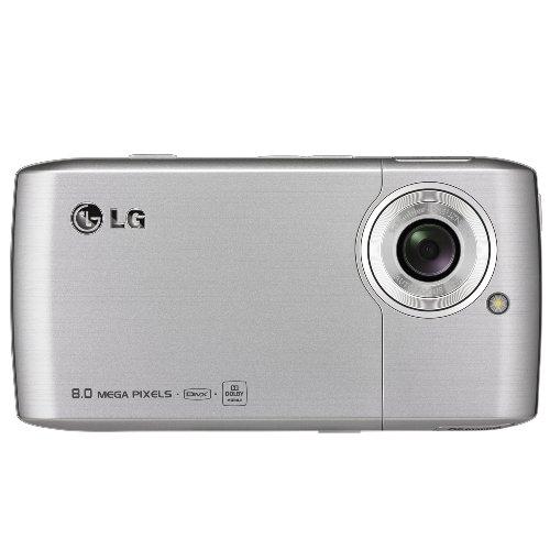 LG GC900 Viewty smart (8MP Kamera, Touchpad) silber-schwarz Smartphone