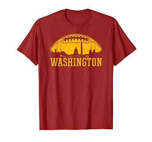 Vintage Washington Football DC Skyline T-Shirt