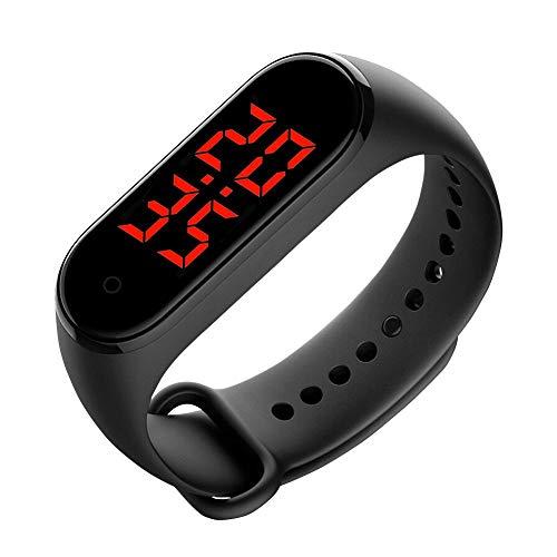 Raburt Smart Watch impermeabile con misurazione della temperatura corporea e display del polso unisex